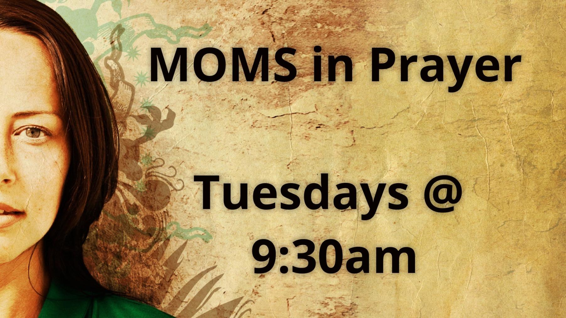 Mom's in Prayer