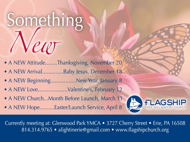 "Sermon Series-""Something New"" – Flagship Free Will Baptist Church"